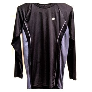Champion Double Dry Men's Large Long Sleeve Top